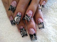 hand painted holiday nail art - Bing Images