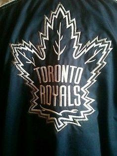 Player worn Toronto Royals team jacket GTHL  Maple Leafs
