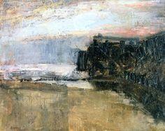 The Pier James Ensor - circa 1880-1882