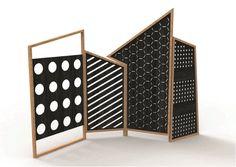 Paravent aus Eisen OPTO by Colé Italian Design Label Design Lorenz*Kaz