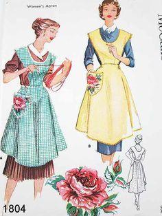 delantales de cocina vintage - Buscar con Google
