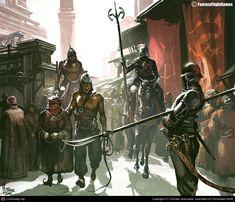 Dothraki Honor Guard, CGPortfolio - Tomasz Jedruszek