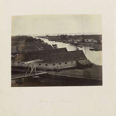 Reede van Batavia, Woodbury & Page, 1863 - 1866 - Rijksmuseum