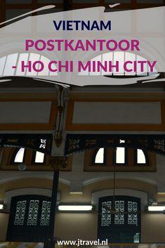 Het Centrale Postkantoor van Ho Chi Minh City is een klassiek koloniaal gebouw en één van de oudste gebouwen en mooiste gebouwen van de stad. Het gebouw valt op door zijn unieke architectuur met kubusvormen en bogen op de deuren. Meer lezen, kijk dan op mijn website. #postkantoor #hochiminhcity #saigon #vietnam #jtravelblog #jtravel