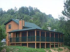 Pigeon Forge Vacation Rental - VRBO 82861 - 3 BR East Cabin in TN, Remaining Feb Nts: $125/Night-Screened Deck-View-Hot Tub -Woodburning Fir...