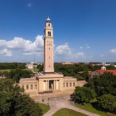 The beauty of the LSU campus is unsurpassed.  Wonderful memories of the bell tower in late afternoon.