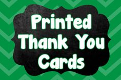 Premium Card Stock Printed Thank You Note by CutiesTieDyeBoutique, $21.00