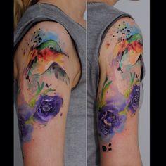 Свеженькая :) 💉🎨✌️ #watercolor #watercolortattoo #tattoo #tattoos #tat #ink #inked #TagsForLikes.com #TFLers #tattooed #tattoist #coverup #art #design #instaart #instagood #sleevetattoo #handtattoo #chesttattoo #photooftheday #tatted #instatattoo #bodyart #tatts #tats #amazingink #tattedup #inkedup #kievtattoo