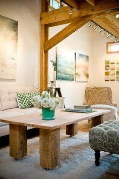 Good Wood: The Charm & Character of Exposed Beams
