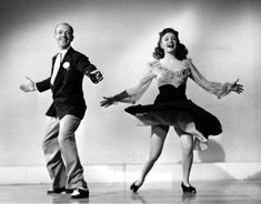 "Fred Astaire e Joan Leslie - 1943 ""The Sky's the Limit"" (AP Photo)"