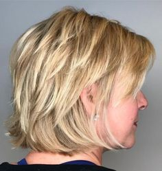 60 Short Shag Hairstyles That You Simply Can't Miss Blonde Shag With Short Layers Short Textured Hair, Short Hair With Layers, Short Hair Cuts, Textured Haircut, Short Shag Hairstyles, Shaggy Haircuts, Layered Haircuts, Thick Hair Haircuts, Trendy Haircuts