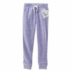 Mudd Logo Fleece Pants - Girls 4-6x