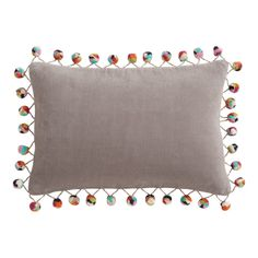 Pom Pom Pillows from Sophisticated to Sweet