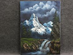 Mountain Waterfall by artist Kevin Hill