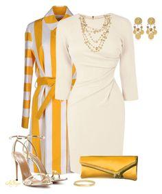 """Karen Millen Jersey Dress Contest"" by kginger ❤ liked on Polyvore featuring Lahssan, Karen Millen, Aquazzura, Henri Bendel, Dolce&Gabbana, ALDO, Coach, women's clothing, women and female"