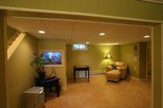 Finish basement renovation