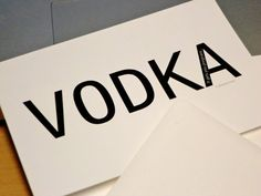 Funny Pregnancy Announcements Set of 12 - Vodka, it gets you pregnant (or Gin or Whiskey) via Etsy