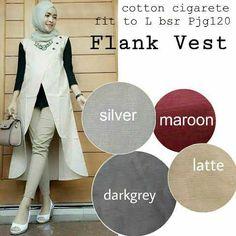 Baju Wanita Modern Flank Vest Trendy - http://bajumuslimbaru.com/baju-wanita-modern-flank-vest #BajuMuslimTerbaru, #JualBajuMuslim