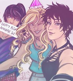 Happy birthday Annabeth!