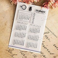 Bullet Journal supplies you must have: mini month stamps for future log