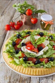 Quiche, Appetizer Salads, Appetizers, Fruit Salad, Cobb Salad, Party Finger Foods, Italian Pasta, Food Preparation, Italian Recipes