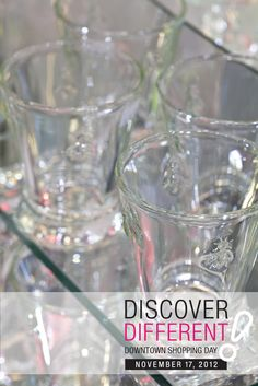 Reach into one of Bloomer's beautiful vases and determine your 5-25% discount on November 17th! #flowers #DiscoverDTL