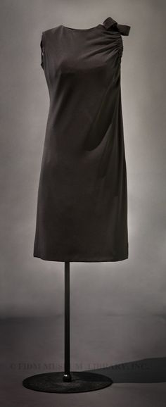 A/W 1962-1963, France - Christian Dior haute couture cocktail dress - Silk crepe