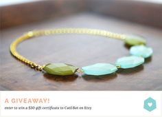 Catabot Jewelry Giveaway | The Lovely Dept.