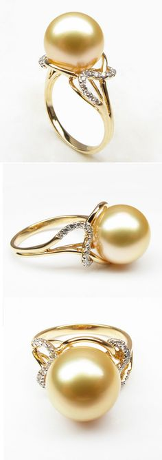 South Sea Pearl Ring.