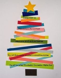 isaiah 9:6 craft for kids | Orthodox Christian Education: Christmas Bible Verse Craft