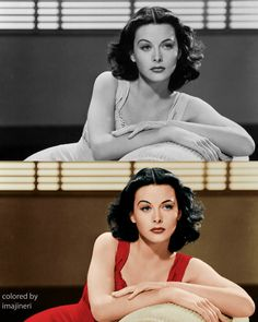 Old Hollywood Glamour, Golden Age Of Hollywood, Hollywood Stars, Vintage Models, Vintage Glamour, Vintage Beauty, Classic Actresses, Hollywood Actresses, Hedy Lamarr