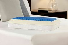 Comfort Revolution Lifestyle Now 3 in 1 Reversible Gel Memory Foam Pillow