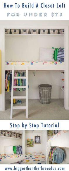 Cool kids closet idea