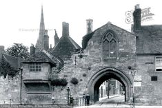 Photo of Salisbury, St Ann's Gate 1906 from Francis Frith Dormer Windows, St Anne, Bus Station, Swansea, Salisbury, Bay Window, Beautiful Images, Barcelona Cathedral, Britain