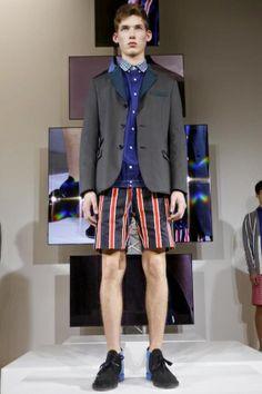 Sacai Menswear Spring Summer 2014 Jacket - @ Dover Street Market Tokio