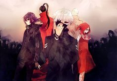Image via We Heart It https://weheartit.com/entry/158547845/via/31367655 #anime #tokyoghoul #aogiri