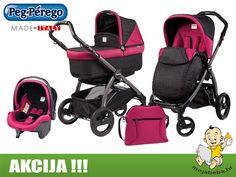 hr sve za bebe na akcijskim cijenama Peg Perego, Modern Kids, Prams, Baby Wearing, Pop Up, Baby Strollers, Children, Books, Slim