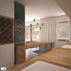 Geometryczne wnętrze. - zdjęcie od TAKE [DESIGN] - Kuchnia - Styl Nowoczesny - TAKE [DESIGN]