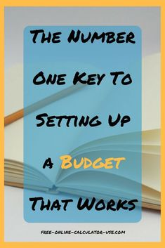 If you are going to take the time and effort to create a household budget, why not take the necessary steps to insure that your efforts prove to be worthwhile? Sample Budget, Budget Planner, Financial Literacy, Financial Goals, Setting Up A Budget, Inspirational Blogs, Household Budget, Living On A Budget, Budgeting