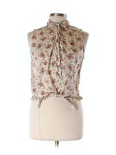 Check it out - Lauren By Ralph Lauren   Sleeveless Button Down for $17.49 on thredUP!