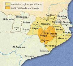 Evolución de los Condados Catalanes