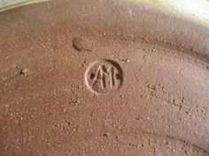 Andrew Mason husband of May Ling Beadsmoore. Darley Mill Pottery, Darley Abbey, Derby. The Marks Book (2015 edition) says this particular style of incised mark