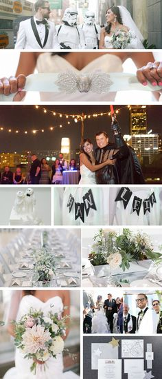 Check out this beautiful Star Wars Wedding Theme!