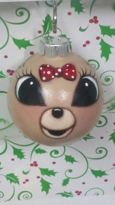 This little lady is made of glass and painted with acrylic paint with an acrylic varnish. All non toxic. She is breakable but with the varnish she is a little tougher than plain glass. She is a perfect addition to the Rudolph lovers Christmas decor. Painted Christmas Ornaments, Hand Painted Ornaments, Christmas Wood, Diy Christmas Ornaments, Homemade Christmas, Christmas Projects, Holiday Crafts, Christmas Ideas, Reindeer Christmas