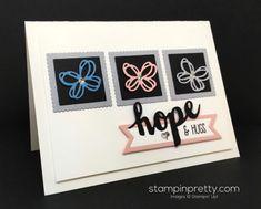 Sunshine Wishes Sympathy Card   Stampin' Pretty