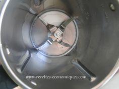 Nettoyer le bol avec vinaigre+eau+liquide vaisselle à 60° 4 min vit4