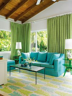 Decorate Your Home With These Color Cocktails - Lime Divine from #InStyle