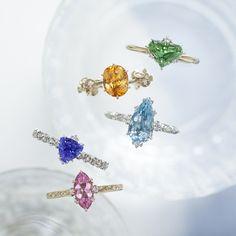 ジュエリーやシークレットストーンをプレゼント東京発アベリのブライダルフェア Jewelry Rings, Jewellery, Wedding News, Sapphire, Brooch, Jewels, Schmuck, Brooches, Gemstone Rings