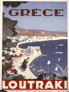 VISIT GREECE| Posters GNTO 1930-1939