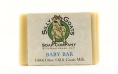 Handmade Goats Milk, 'Baby Bar' Soap by SillyGoatsSoap on Etsy
